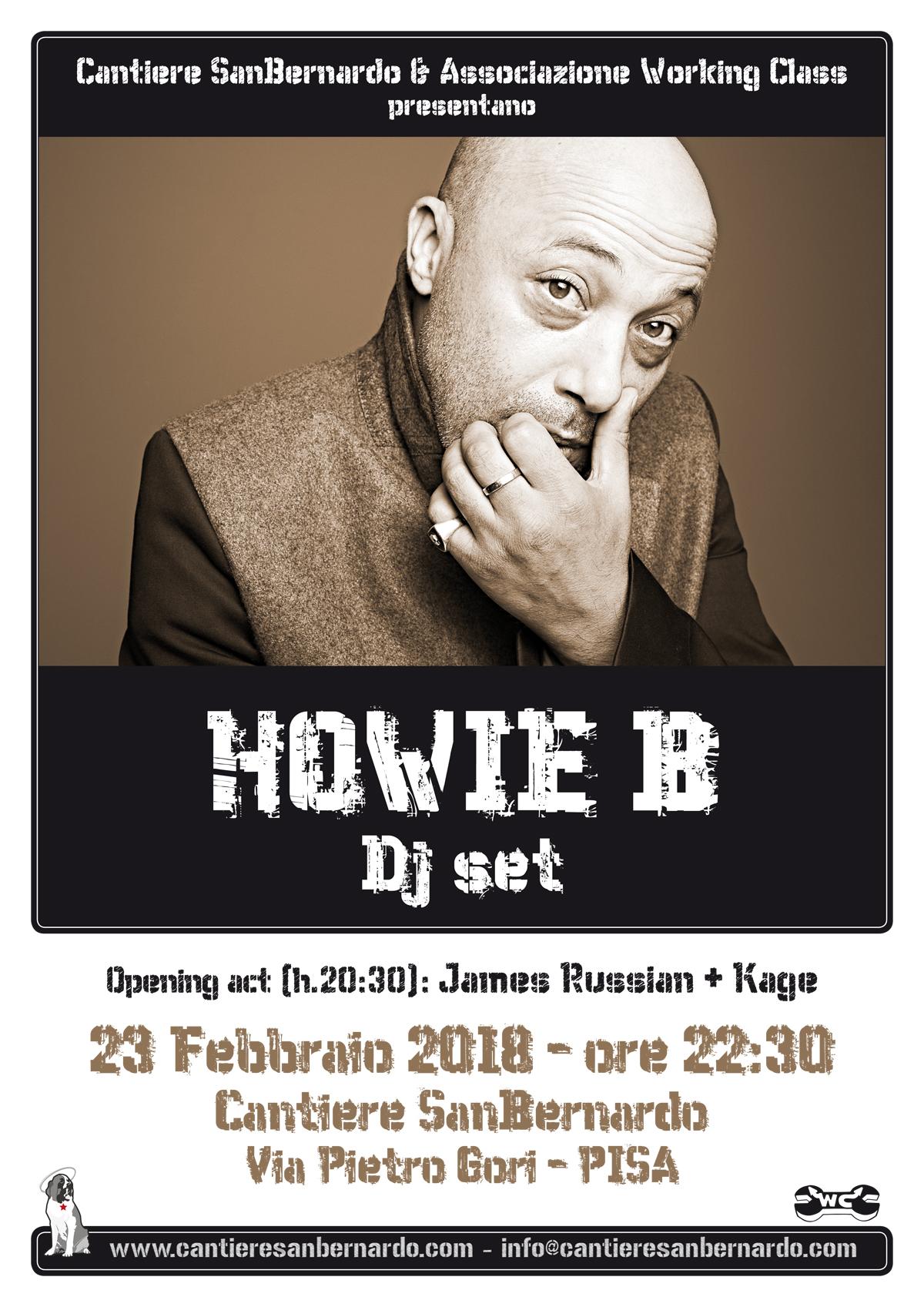 Howie B dj set