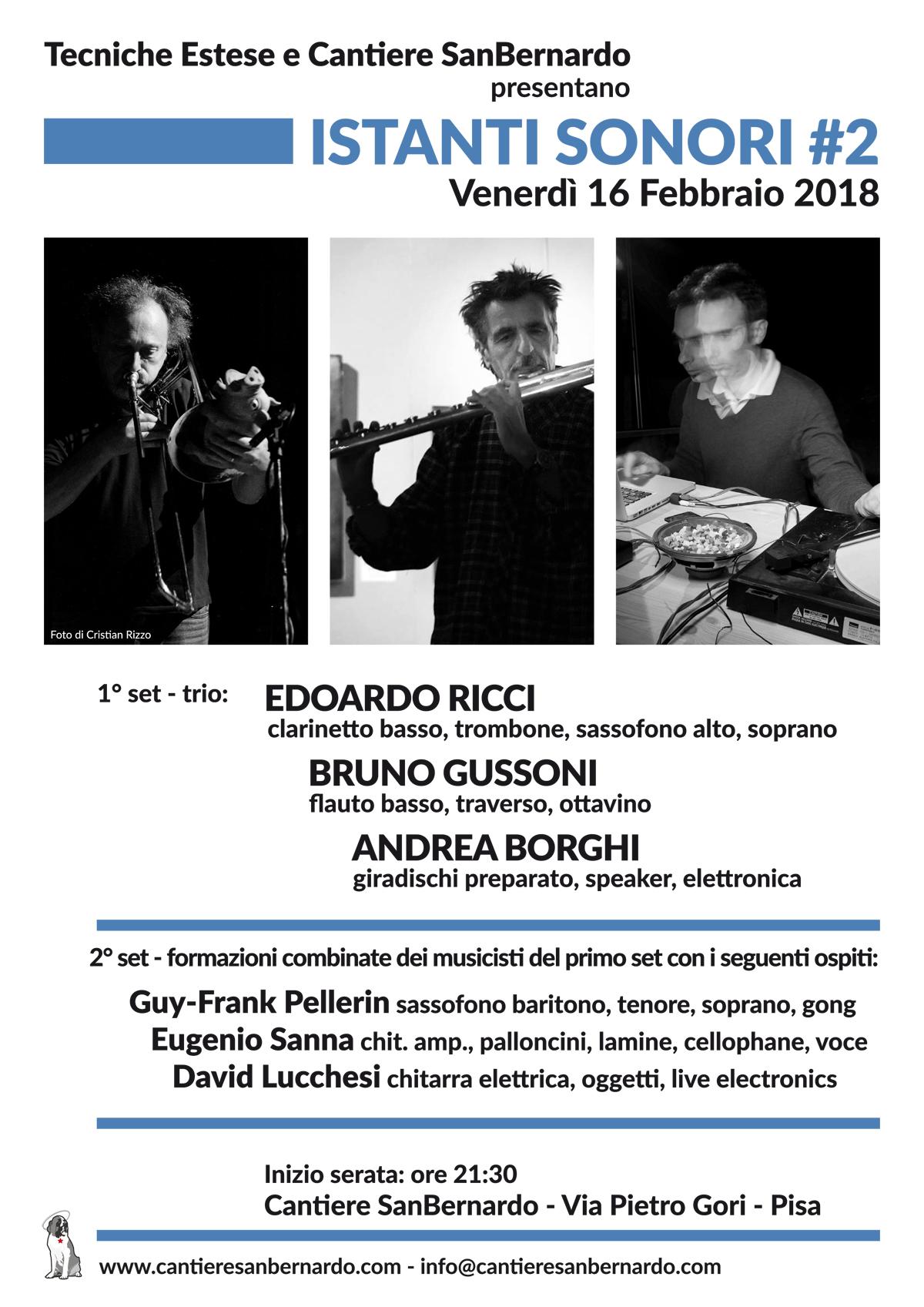 Istanti Sonori #2 - Ricci - Gussoni - Borghi