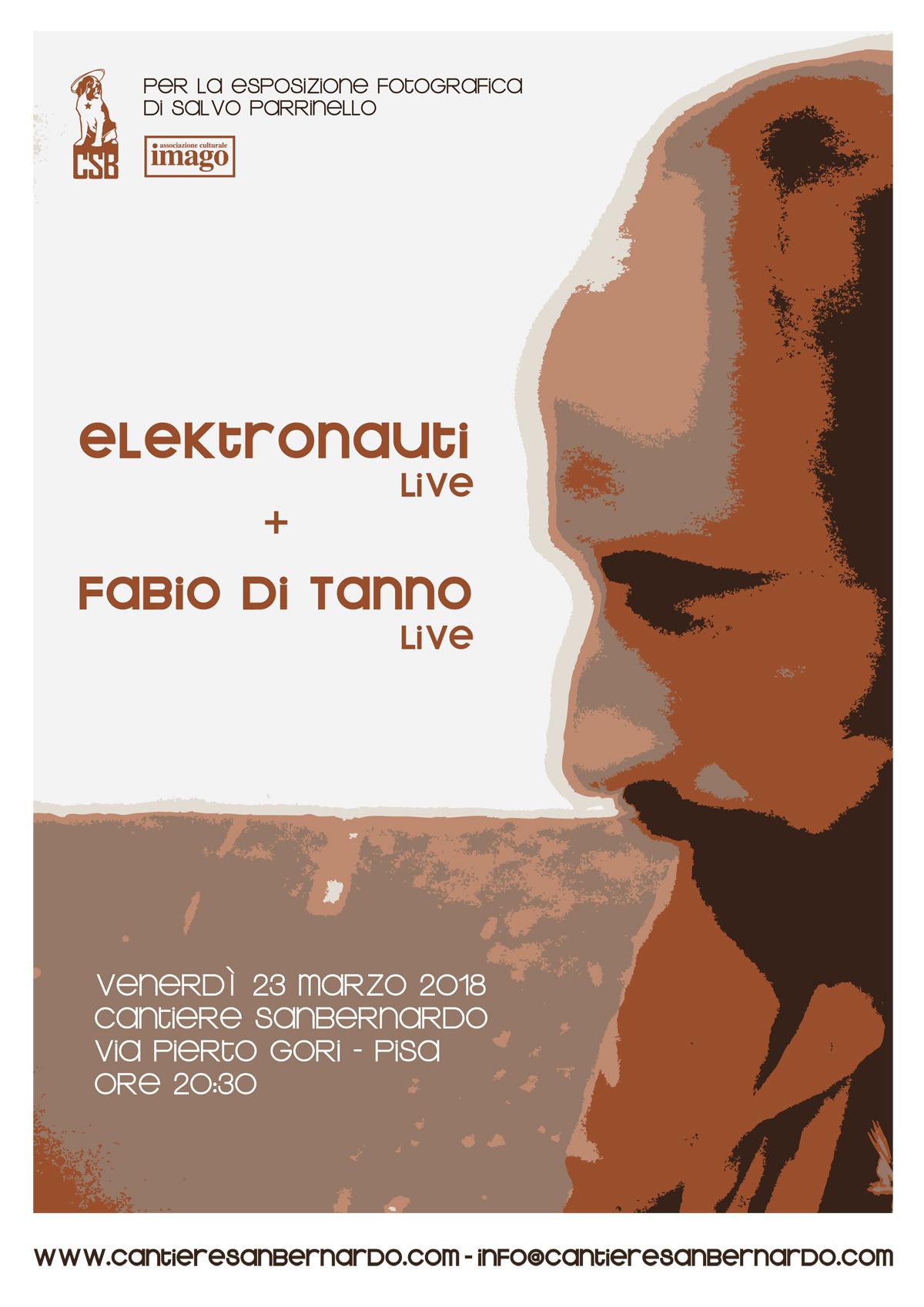 Elektronauti + Fabio Di Tanno Live