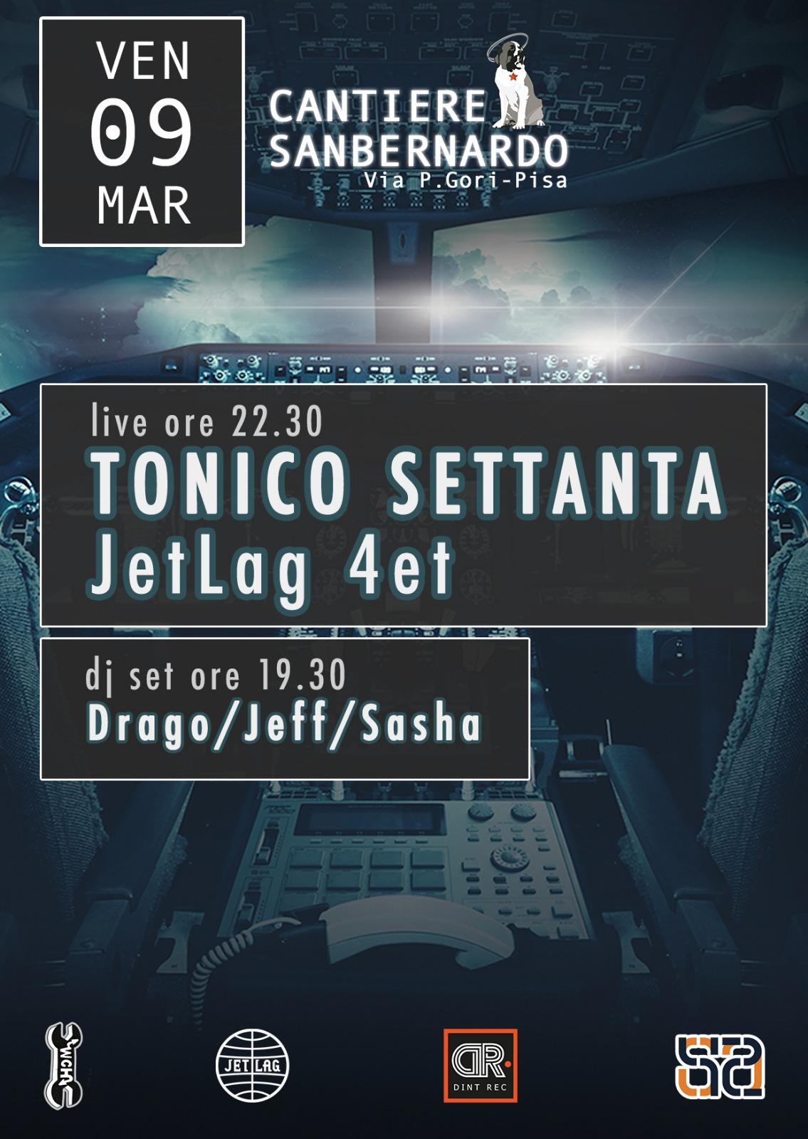 tonico settanta & Jet Lag 4tet