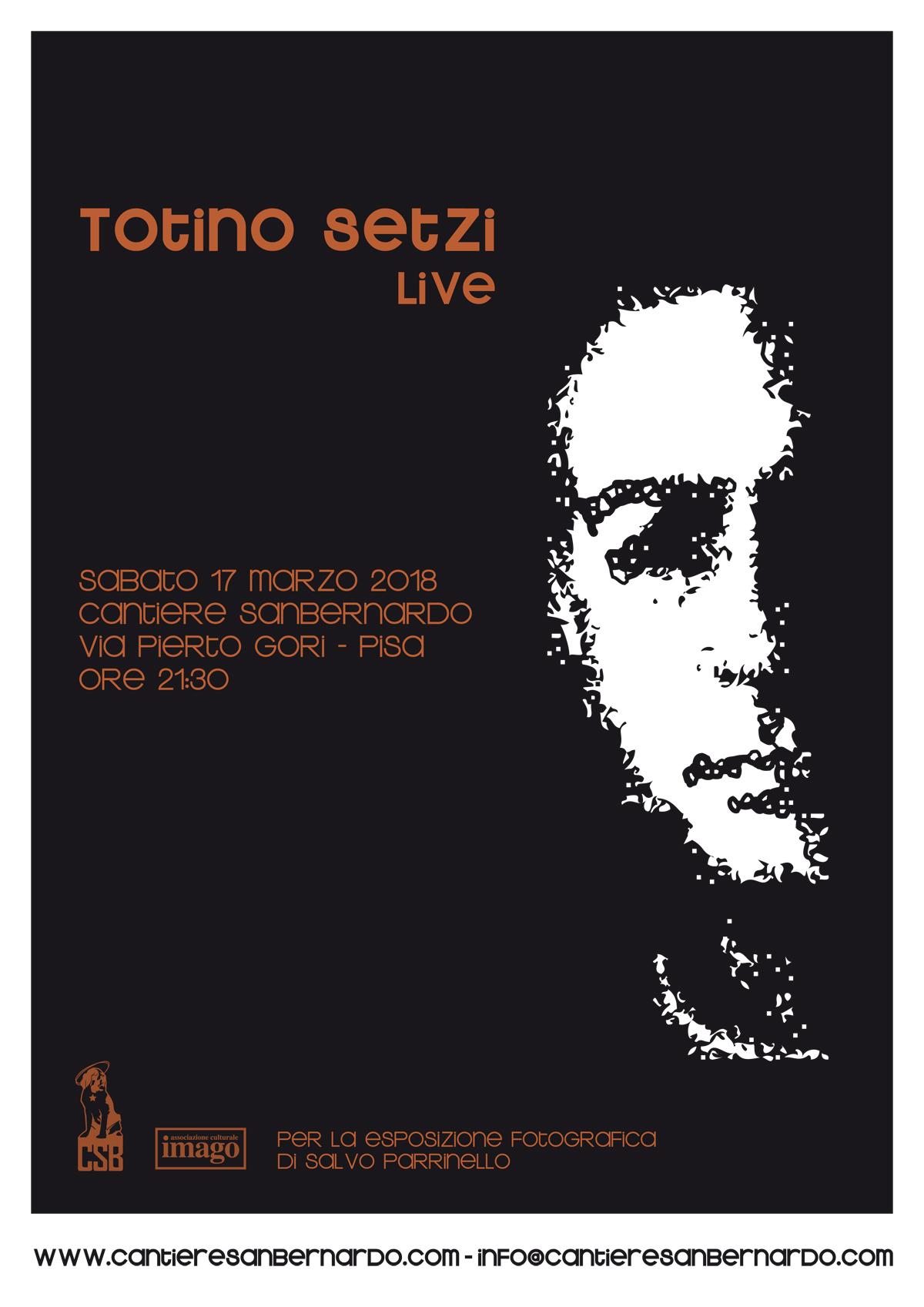 Totino Setzi Live